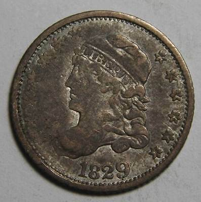 1853 Silver Seated Half Dime 5¢ Coin Lot# MZ 4134