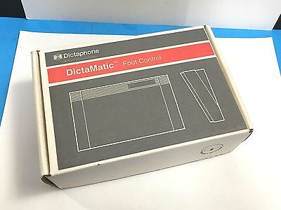 Dictaphone DictaMatic Foot Control Pedal 177585 New Old Stock