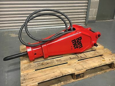 Rammer S - 21 Hydraulic Rock breakers  2 to 3.7 Ton