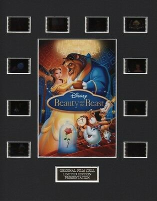 * Beauty and the Beast P  35mm Film Cell Display *