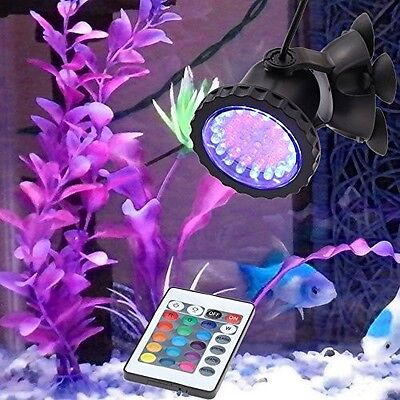 Submersible Light Tank Aquarium Led Fish Spot Pond Garden Underwater Waterproof