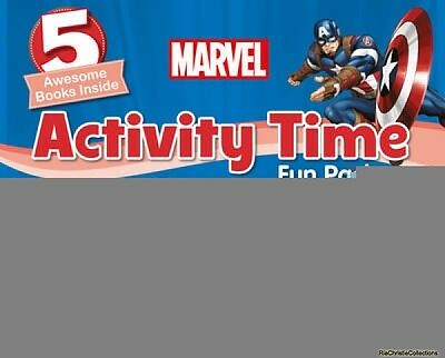 Marvel Activity Time Fun Pack Parragon Books Ltd Mixed media product New Book Fr