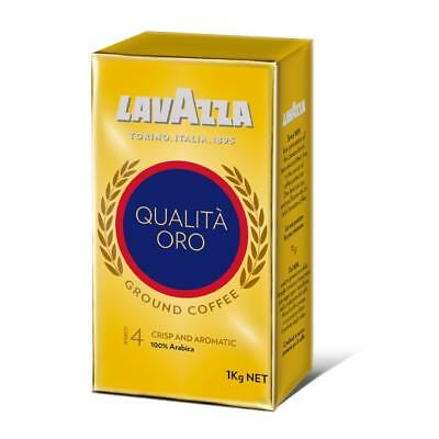 Lavazza Qualita Oro Ground Coffee 1kg