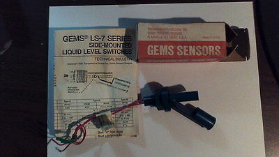Gems LS-7 Series Side mount liquid level switches