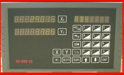 SINPO 2 axis digital readout kit for grinder grinding