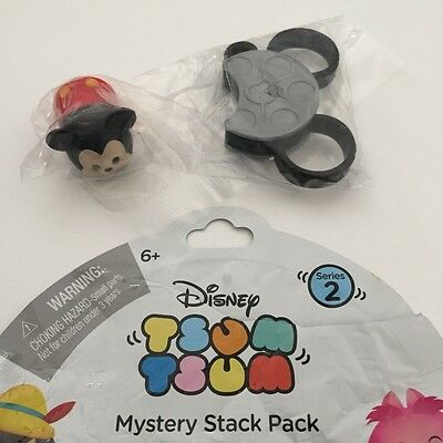 Disney Tsum Tsum Mystery Stack Pack Figure Series 2 - Mickey Mouse - NEW