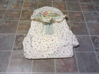Vintage Classic Winnie The Pooh Diaper Holder Stacker on hanger FREE SHIPPING