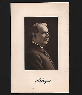 OPC Henry Clay Payne Postmaster General 1902-4 Portrait and Autograph
