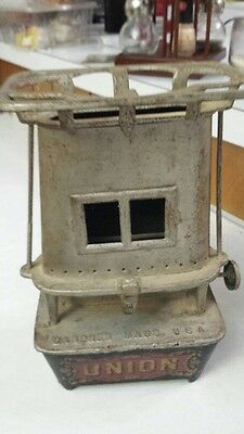Vintage UNION kerosene cast iron flat heater