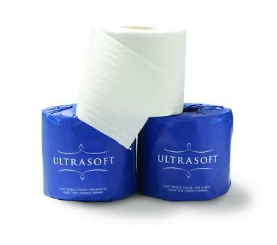 Caprice Ultrasoft Prem Toilet Roll I/Wrap 2 Ply 700 Sheet Carton 48