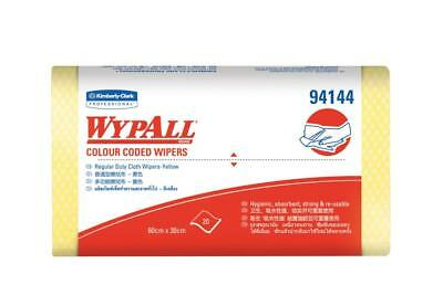 Wypall 94144 Extra Wipers 60cmx30cm Yellow Pack 20