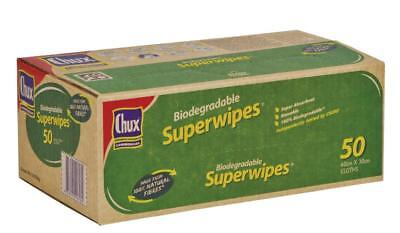 Chux Cssr50/1 Biodegradeable Superwipes 60cmx30cm 50S