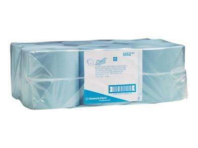 Scott 6668 Hard Roll Towel Blue Carton 6