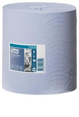 Tork 128208 Wiping Paper Blue Centrefeed M2 320m Ctn 6