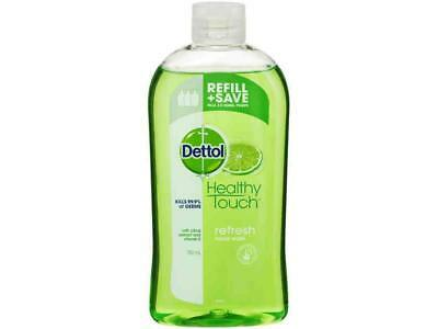 Dettol Antibacterial Refresh Liquid Wash Refill Bottle 500ml