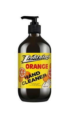 Lightning Orange Pumice Hand Cleaner 500ml
