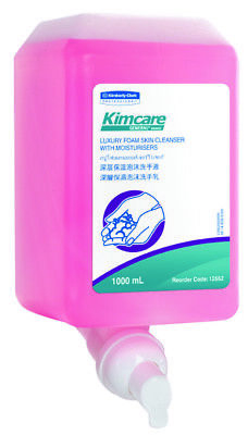 Kimcare Luxury Foam 12552 Cleanser With Moisturizers 1 Litre