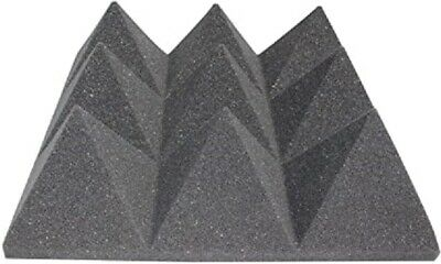 Acoustics Pyramid Foam inch 4 x 24 x 24 (12Pack) of  Panel for Soundproofing.