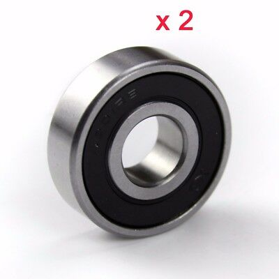 6201RS Rubber Sealed Deep Groove Ball Wheel Bearing Motorbike Motorcycle