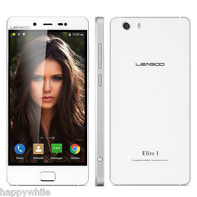 "5.0"" FHD 4G Cellulare Leagoo Elite 1 Android5.1 Octa Core 32GB+3GB 16MP Touch ID"