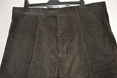 Vintage Mountain Pass green heavy duty corduroy trousers size 38 country classic
