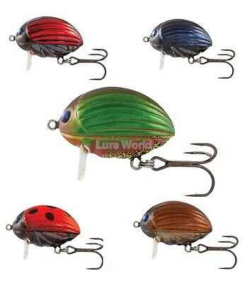 Salmo Lil' Bug 2F - floating, 2cm - Colour Options Available - pike, perch, zand