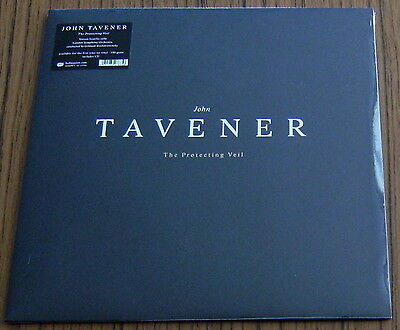 JOHN TAVENER The Protecting Veil LP 180g + CD (2014)NEW & SEALED LSO Isserlis