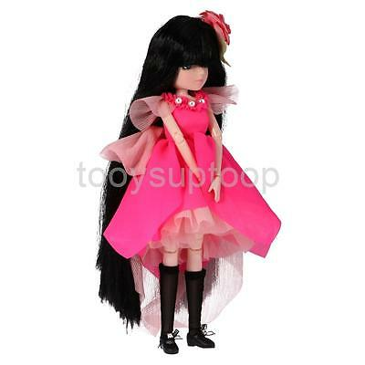 27cm Vinyl Dressed Body Doll Ball Jointed Doll Kid Playset Toy Birthday Gift