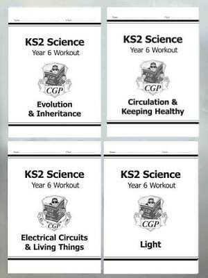 KS2 Science Home Learning Workbook With 50 Cool Stickers Ages 9+ Year 5 & 6 New
