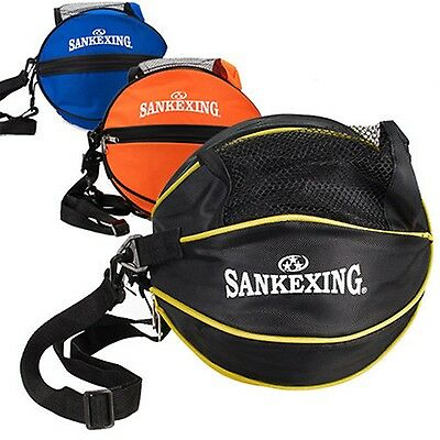 Sport Ball Bag Nylon Outdoor Shoulder Soccer Football Volleyball Basketball Bags