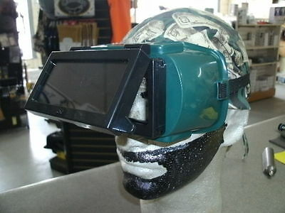 Lift Front 2'' x 4 1/4'' Shade 5 Torch Cutting Goggles Oxygen Acetylene Welding