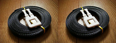 2x Kit: 7.5m/12mm strapping 150kg brake + 1x plastic buckle - Hand pallet