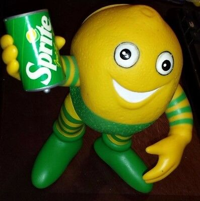 Sprite Soda Lucky Lymon Vinyl Advertising Figure Doll Coca Cola (D.n.w.) Sprout