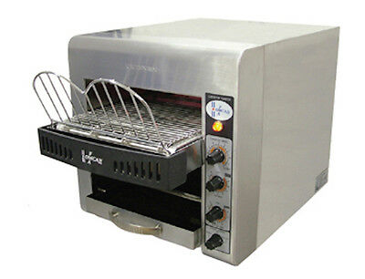 Commercial Kitchen Countertop Conveyor Toaster 300 Slices Per Hour