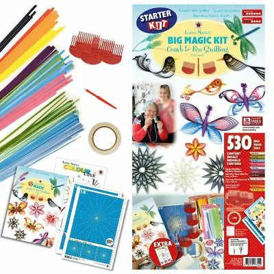 "Karen-Marie Set ""Big Magic Comb & Pen Quilling Kit"""