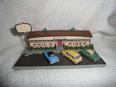 Collectibles,classic American Diners,phil's Diner