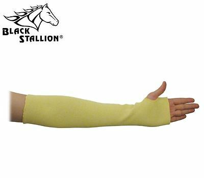 "Black Stallion KK-18T 18"" Double Kevlar Knit Sleeve Thumb Hole Cut Resistant"