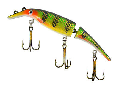 """Swim Whizz 8"""" Jointed Homer Leblanc Original (One Lure) Your Choice"""