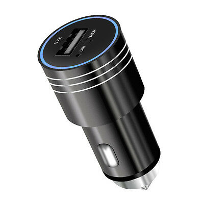 Bluetooth Wireless USB Car Charger FM Transmitter Player Handsfree Black AC590