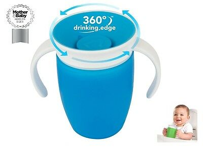Munchkin Miracle 360 Trainer Cup 207ml Leak/Spill Proof + Kind on Baby Teeth
