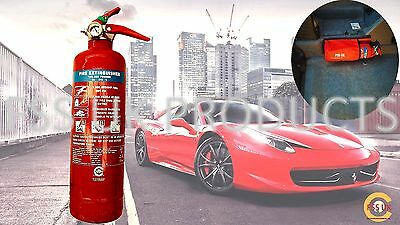 Car Van Taxi Premium 1 Kg Abc Fire Extinguisher With Free Universal Car Holder