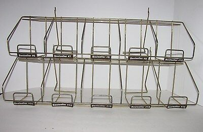 Paperback Book Wire Display Rack