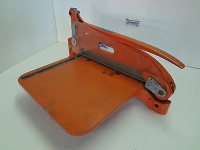"NEW HERMES PLASTIC SHEAR CUTTER 12"" Model 25-160-00"