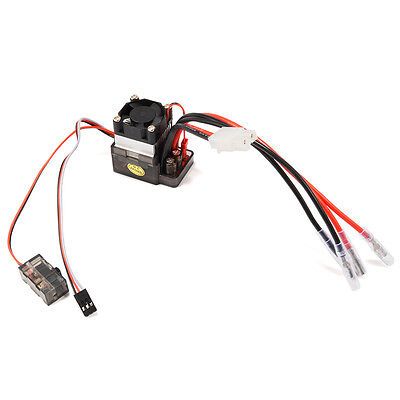 High Voltage 7.2-16V 320A Brush Motor Speed Controller ESC per RC Car Boat RC191