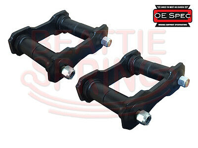 Shackle Kit for Rear Leaf Springs on Fairlane Comet and Maverick OE Spec (Pair)