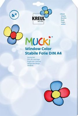 "KREUL Fenster-Folie ""Window Color MUCKI"" 3 Stück"