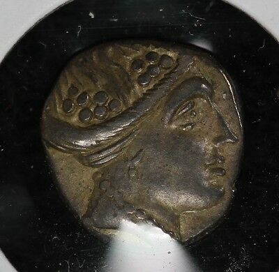Greek Histiaia In Euboia Silver Coin- Tetrobol - Likely 300-200 BC