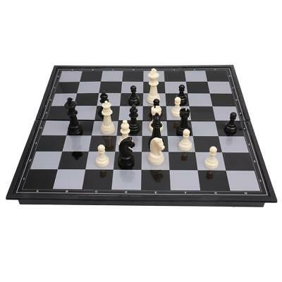 Traditional Magnetic Folding CHESS BOARD GAME Set 32 Pcs Fun Party Favor L