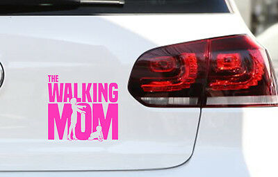 Baby on Board Aufkleber The Walking Mum Fun JDM Sticker Muttertag  Premium Folie