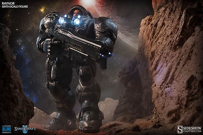 "Sideshow - Jim Raynor Starcraft  - 1/6 scale 15.5"" Figure"